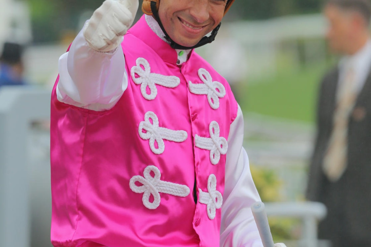 """Joao Moreira is recovering from having his appendix removed in a Qatar hospital, which interrupted his flight to Brazil. But the """"Magic Man"""" is now recovering at home. Photo: Kenneth Chan"""