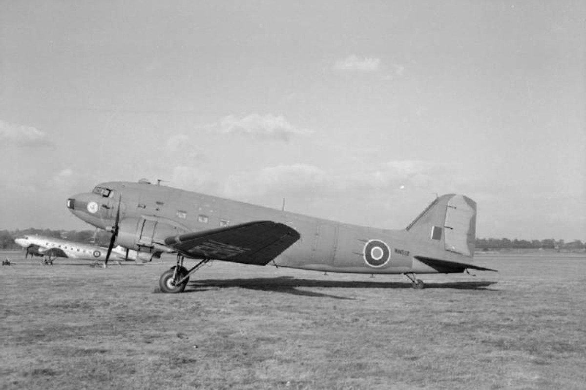 A Dakota Mark IV of the British RAF's No 24 Squadron, in Middlesex, England, during the second world war. Photos: SCMP; Corbis; Arthur Lane
