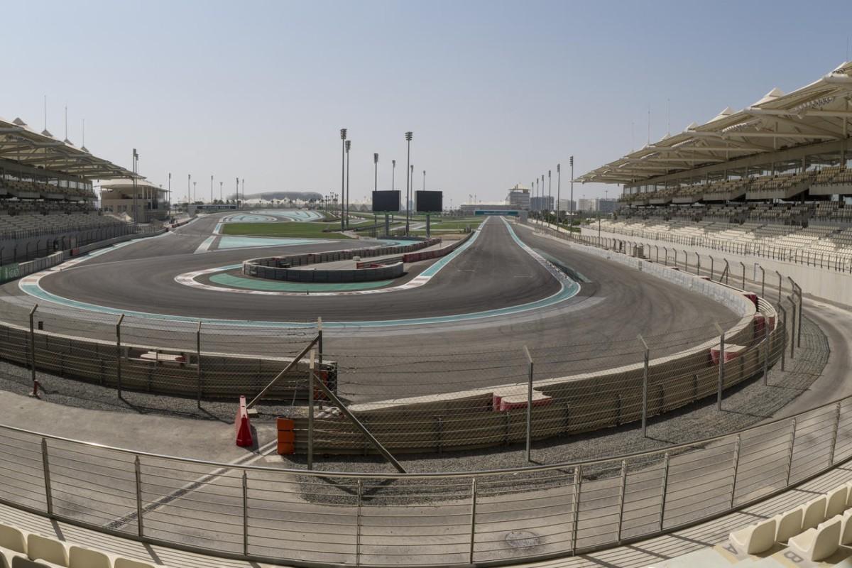 The Yas Marina Circuit, Abu Dhabi