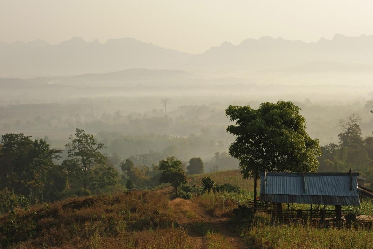 The view towards Chiang Dao village, in northern Thailand. Photos: Corbis; David Kaufman