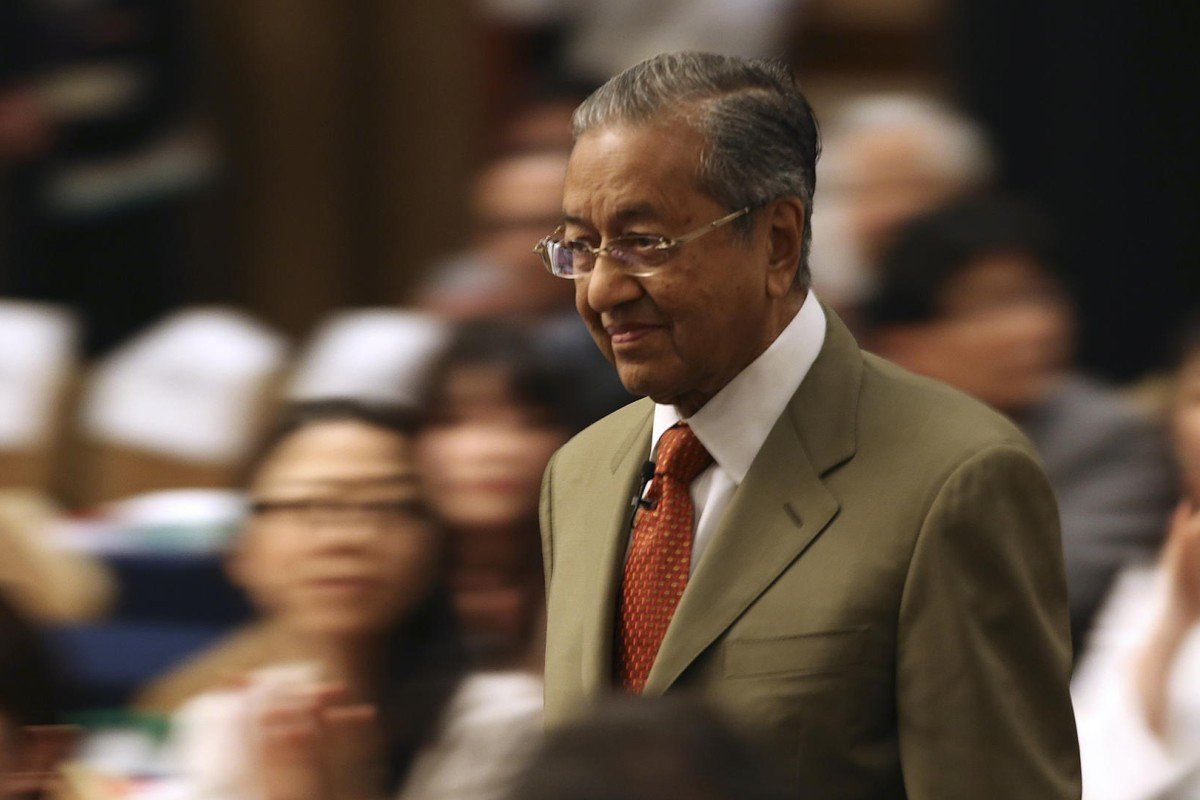 Mahathir Mohamad, at the International Conference on The Future of Asia, in Tokyo, in May. Photos: AP; AFP; Reuters