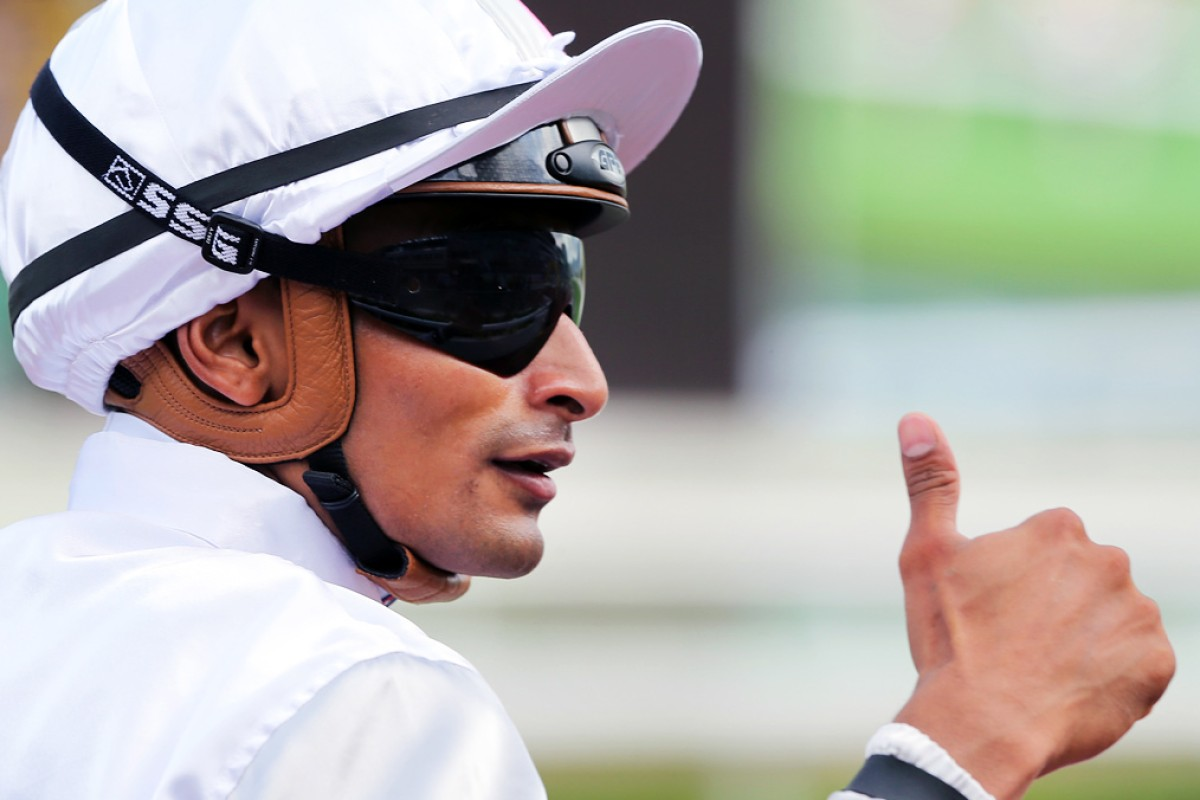 Karis Teetan is hoping for the thumbs up to ride at the final meetings. Photos: Kenneth Chan