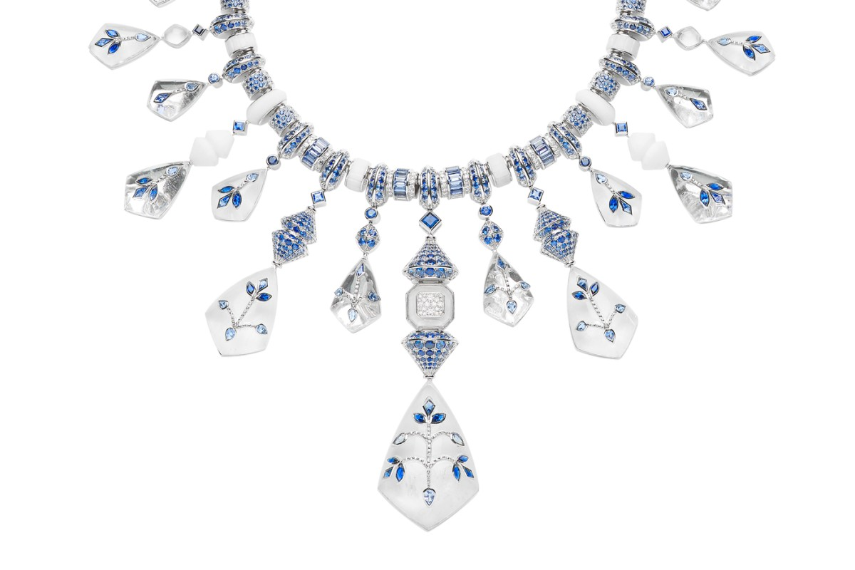 Boucheron creates stunning jewellery and timepieces, such as the Jodhpur neklace from their latest high jewellery collection