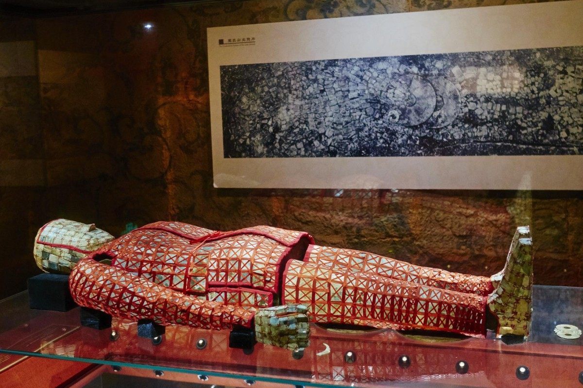 Gripping stuffA jade burial suit on display at the Museum of the Mausoleum of the Nanyue King, in Guangzhou. Photo: Corbis