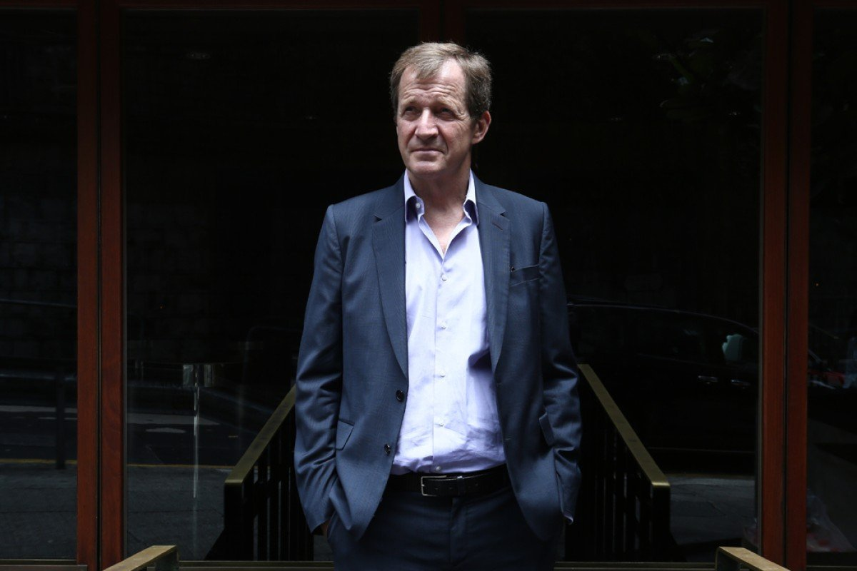 Alastair Campbell outside the Foreign Correspondents' Club, in Central. Photos: Jonathan Wong; AP; AFP; Reuters; Corbis