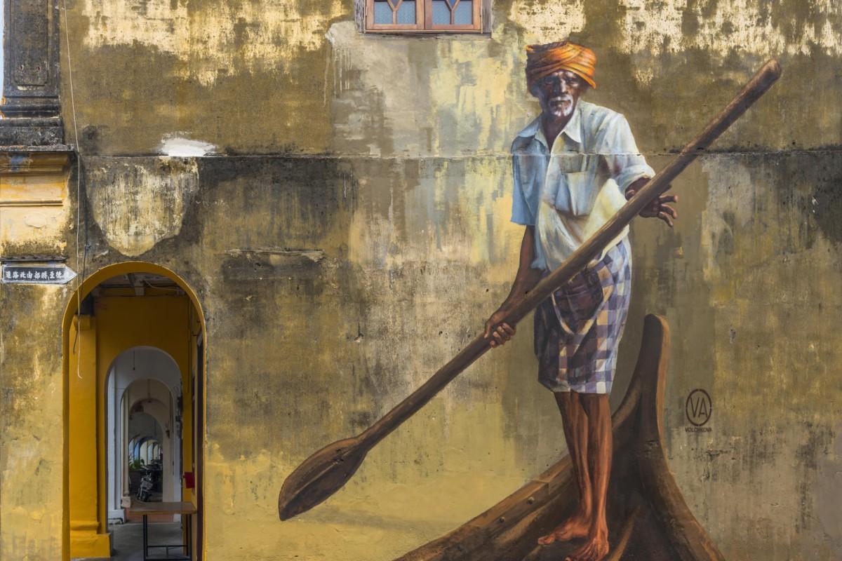 Street art off Love Lane, in George Town, Penang. Photos: Corbis; Malaysian Tourism Board