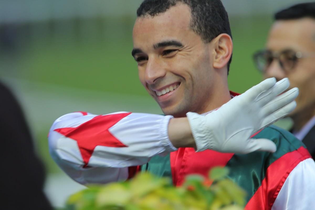 Joao Moreira reached 50 wins for the season in record time for a rider as he continues to take Hong Kong racing by storm. Photo: Kenneth Chan