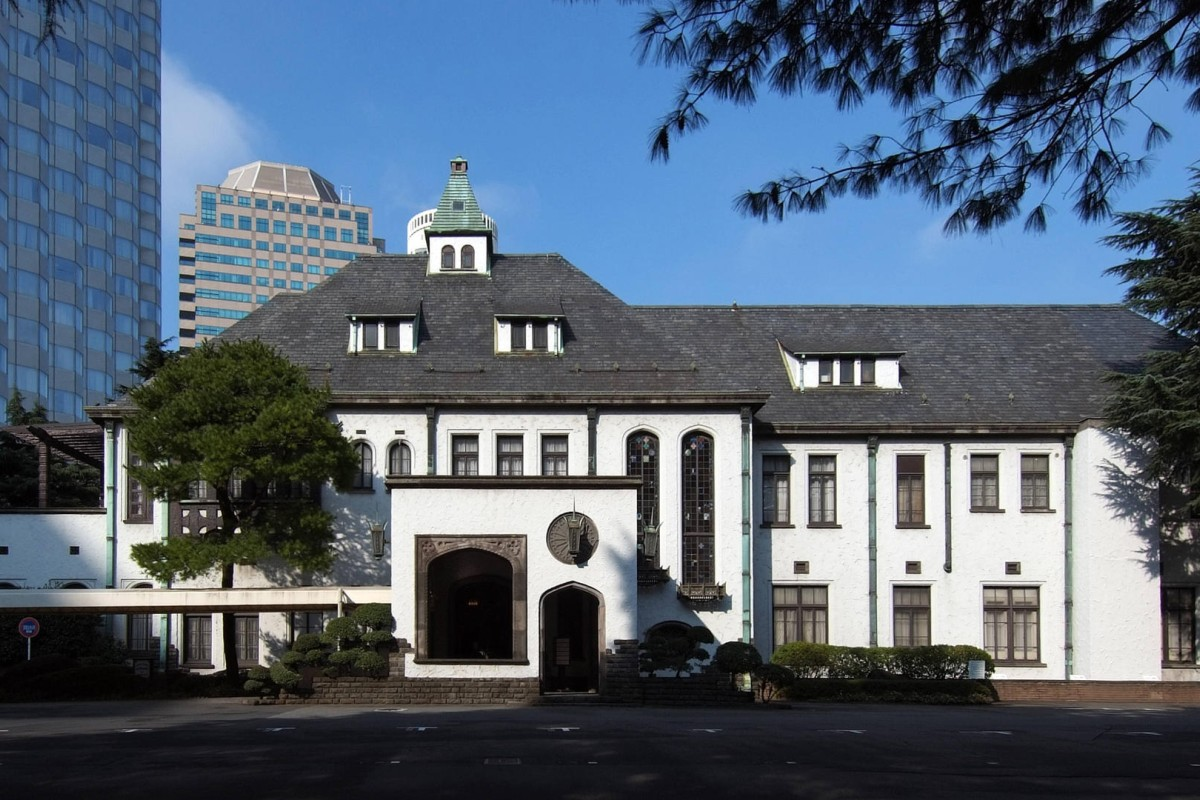 The former royal palace in tokyo beside which the tokyo garden terrace development houses new