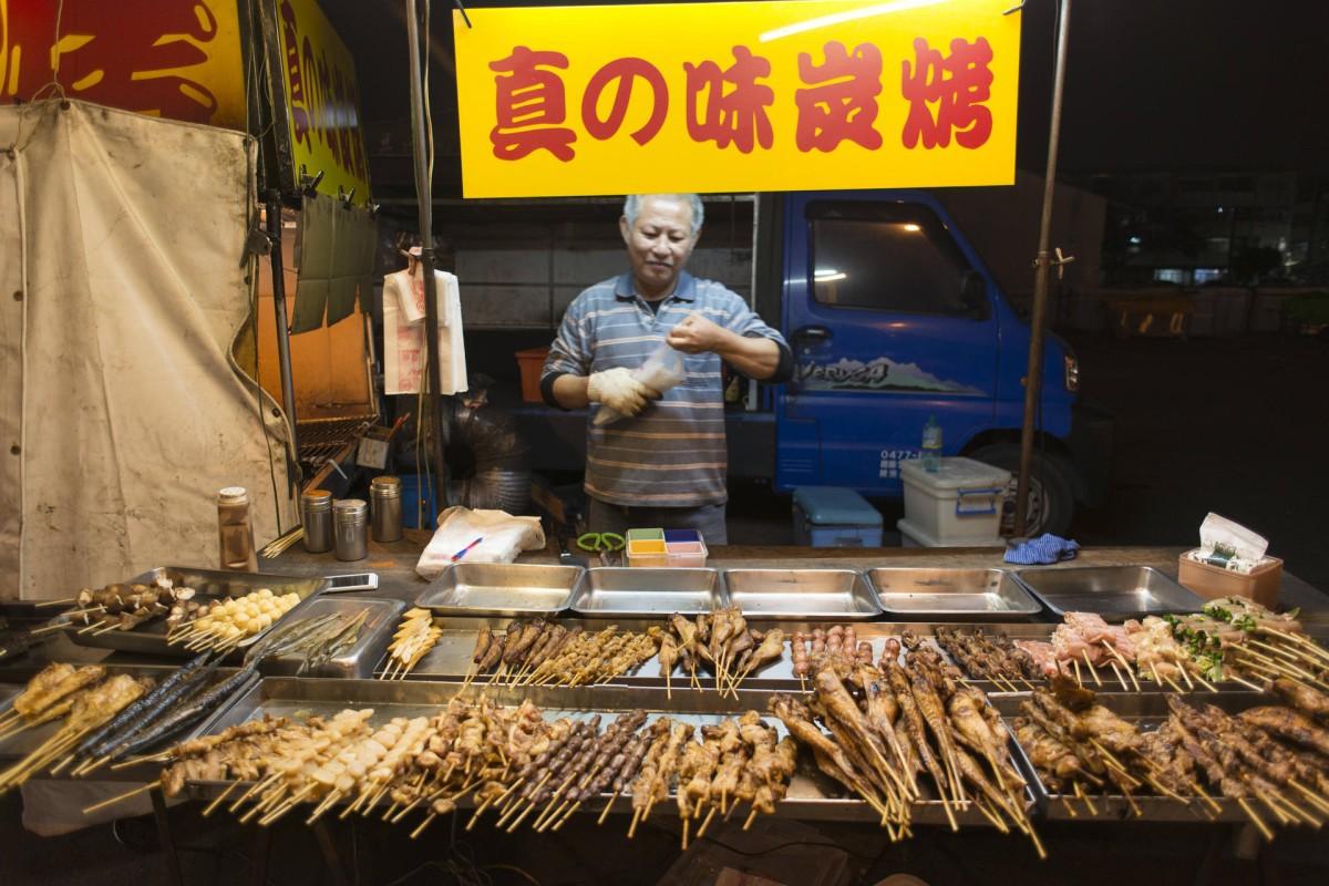 A Tainan street vendor.