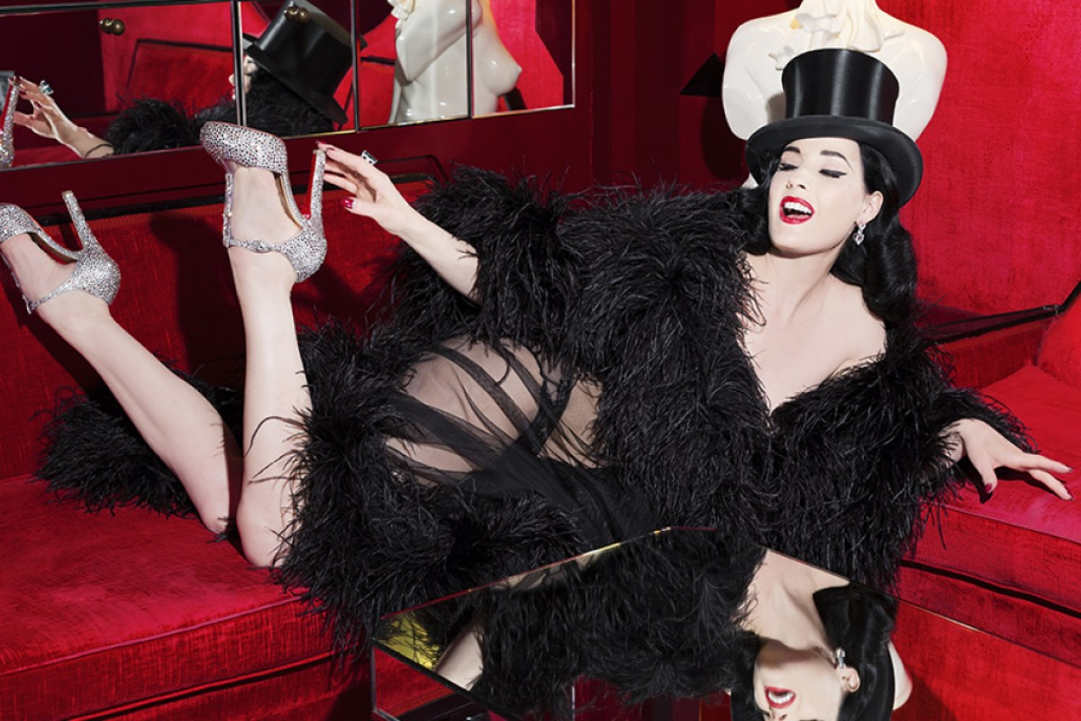 Dita Von Teese collaborates with Christian Louboutin for new show