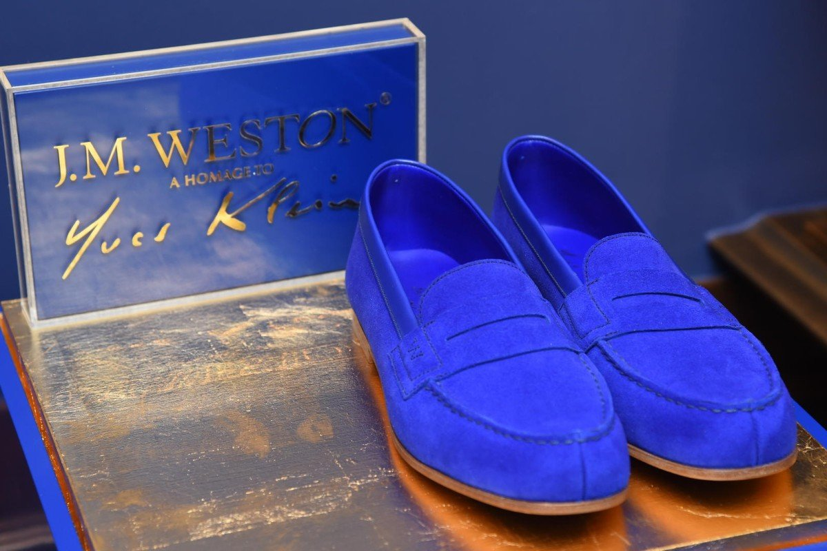 The all-new spring collection of J.M. Weston's iconic loafers comes in rainbow hues #stylescmp