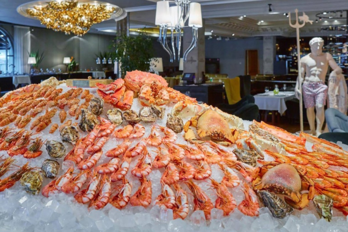 Moscow S Erwin Restaurant Is Known For Its Seafood