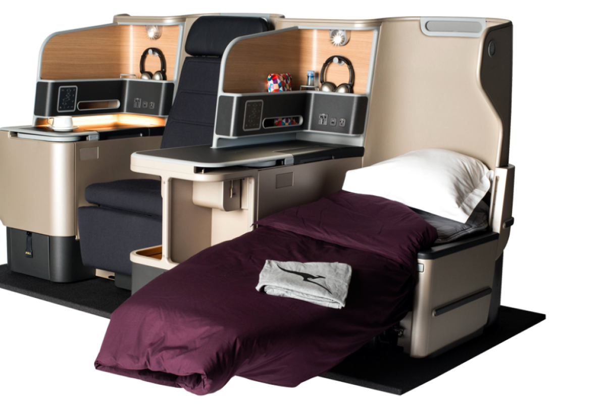 These Spacious And Comfortable Seats In A Jet Are Created By The Australian Industrial  Designer.