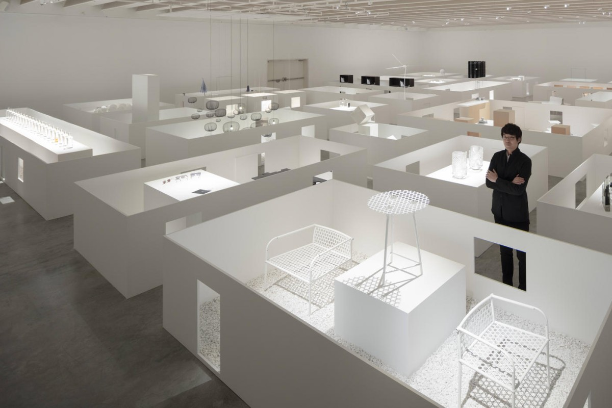 Oki Sato's design career is commemorated in Nendo's first large retrospective exhibition, 'The Space in Between', at the Design Museum Holon, in Israel. Photos: Takumi Ota, Masayuki Hayashi, Yoneo Kawabe