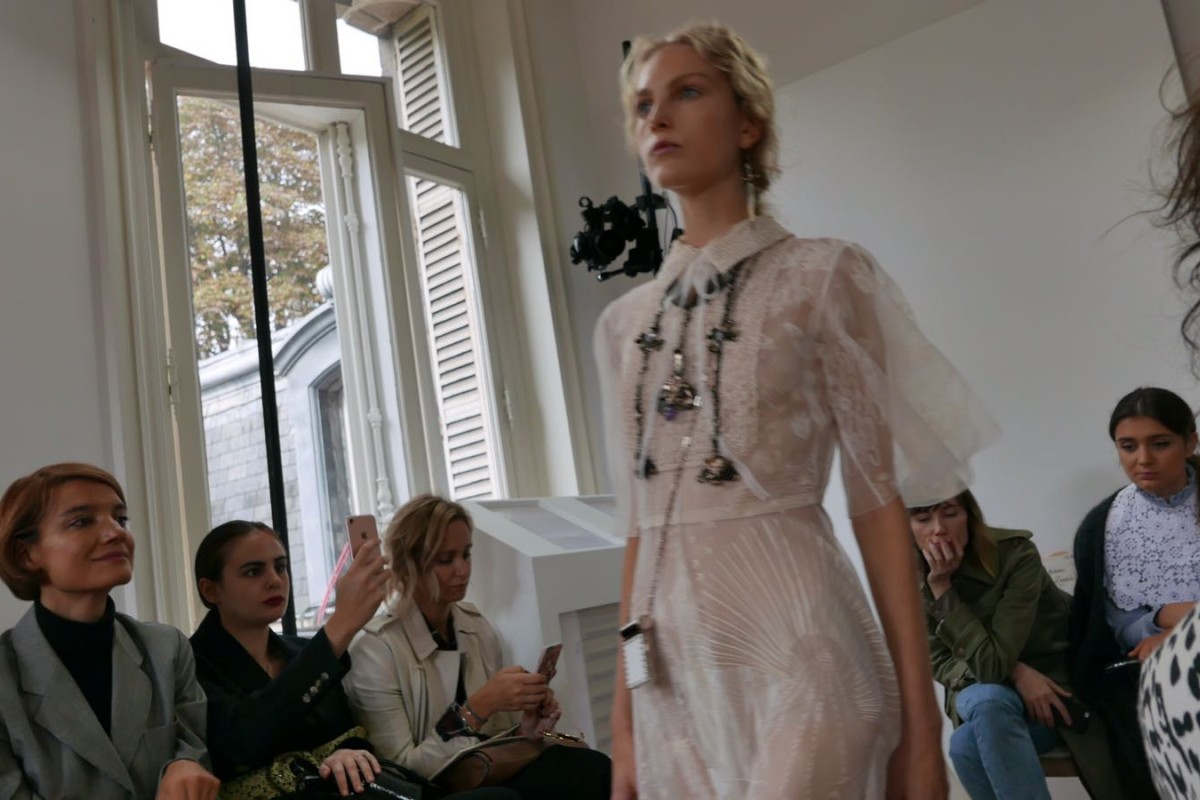 Valentino's Pierpaolo Piccoli goes solo at Paris Fashion Week