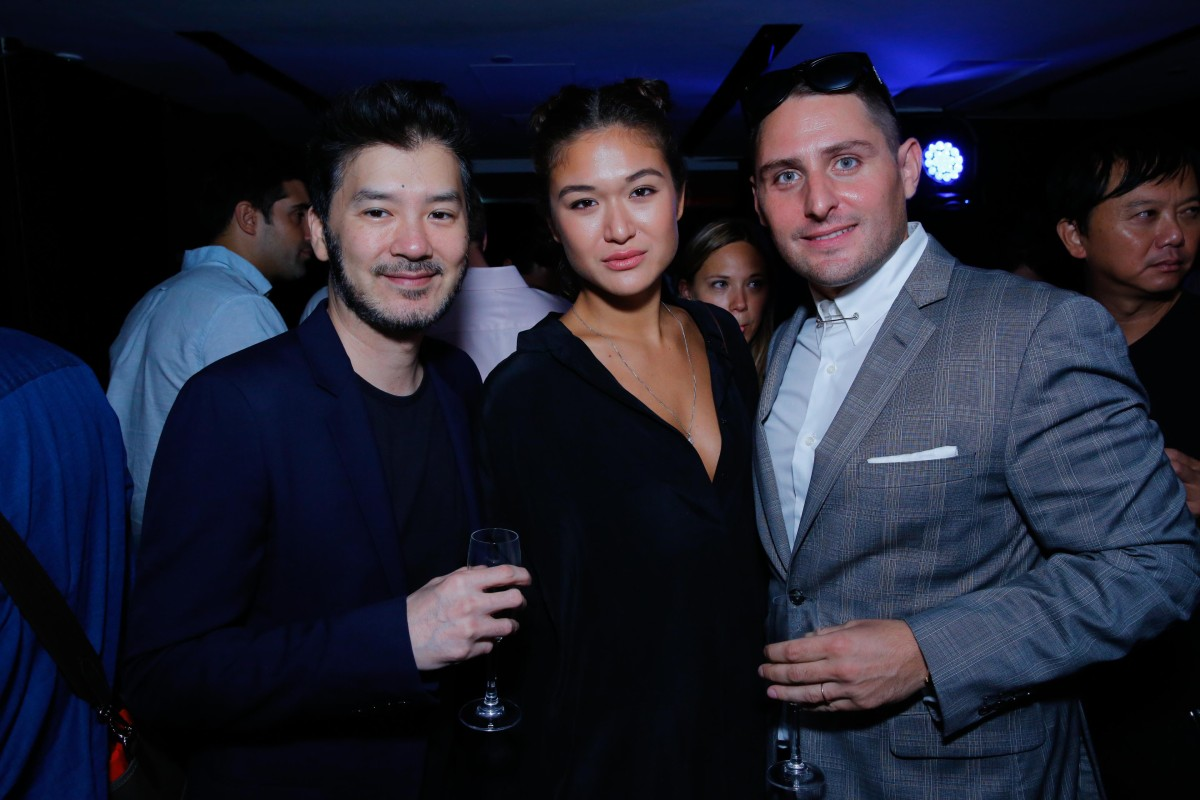 Drafus Chow, Mara Rhomberg and Thierry Mandonnaud
