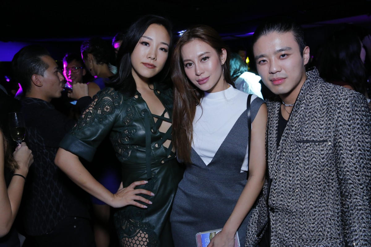 Fei Ping Chang, Elly Lam and Jonathan Cheung