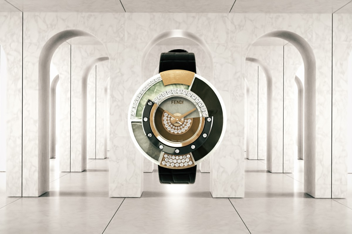 Fendi launches Policromia high jewellery watch