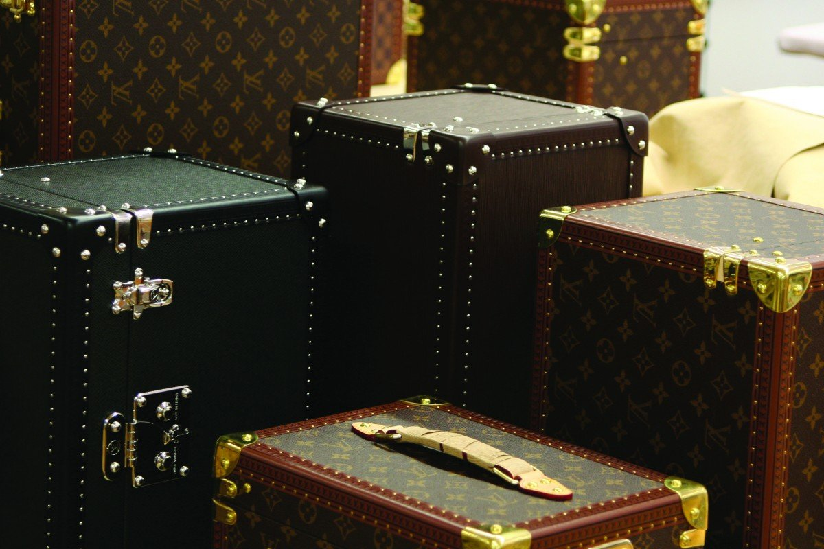 Louis Vuitton's iconic travelling trunk