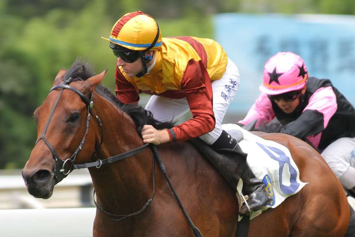 So Caffe hasn't won since July 2014, when he won what now looks a fairly average griffin race. Photo: Kenneth Chan