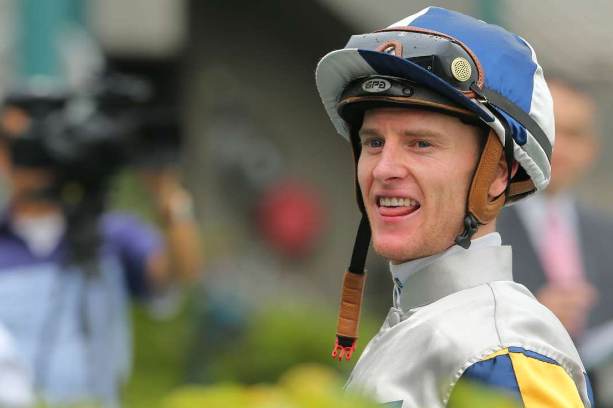 It was a big weekend for Zac Purton, who won a Group One in Sydney and notched a double at Sha Tin. Photo: Kenneth Chan
