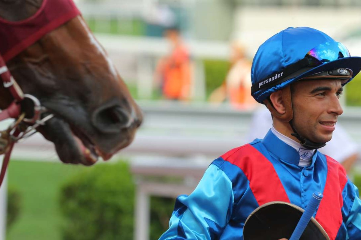 Joao Moreira's treble takes him to 146 wins for the season, a new record. Photo: Kenneth Chan