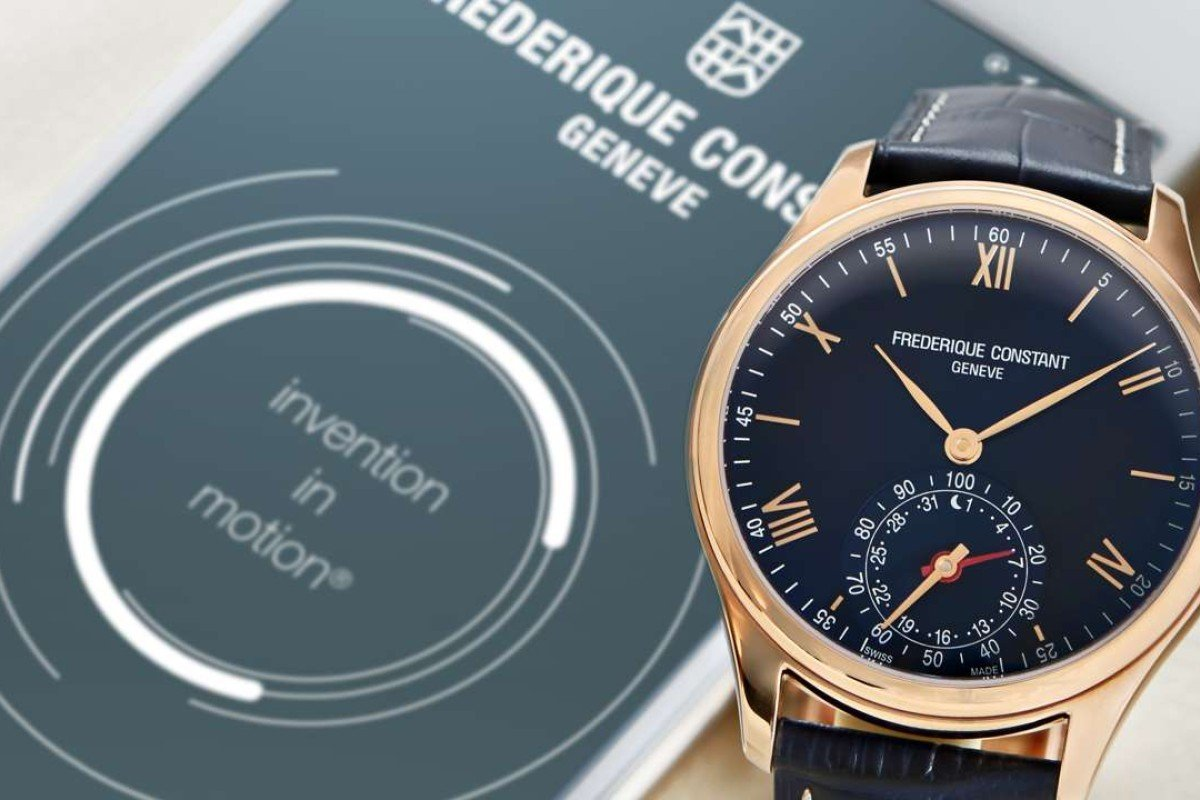 The Frederique Constant Horological Smartwatch.