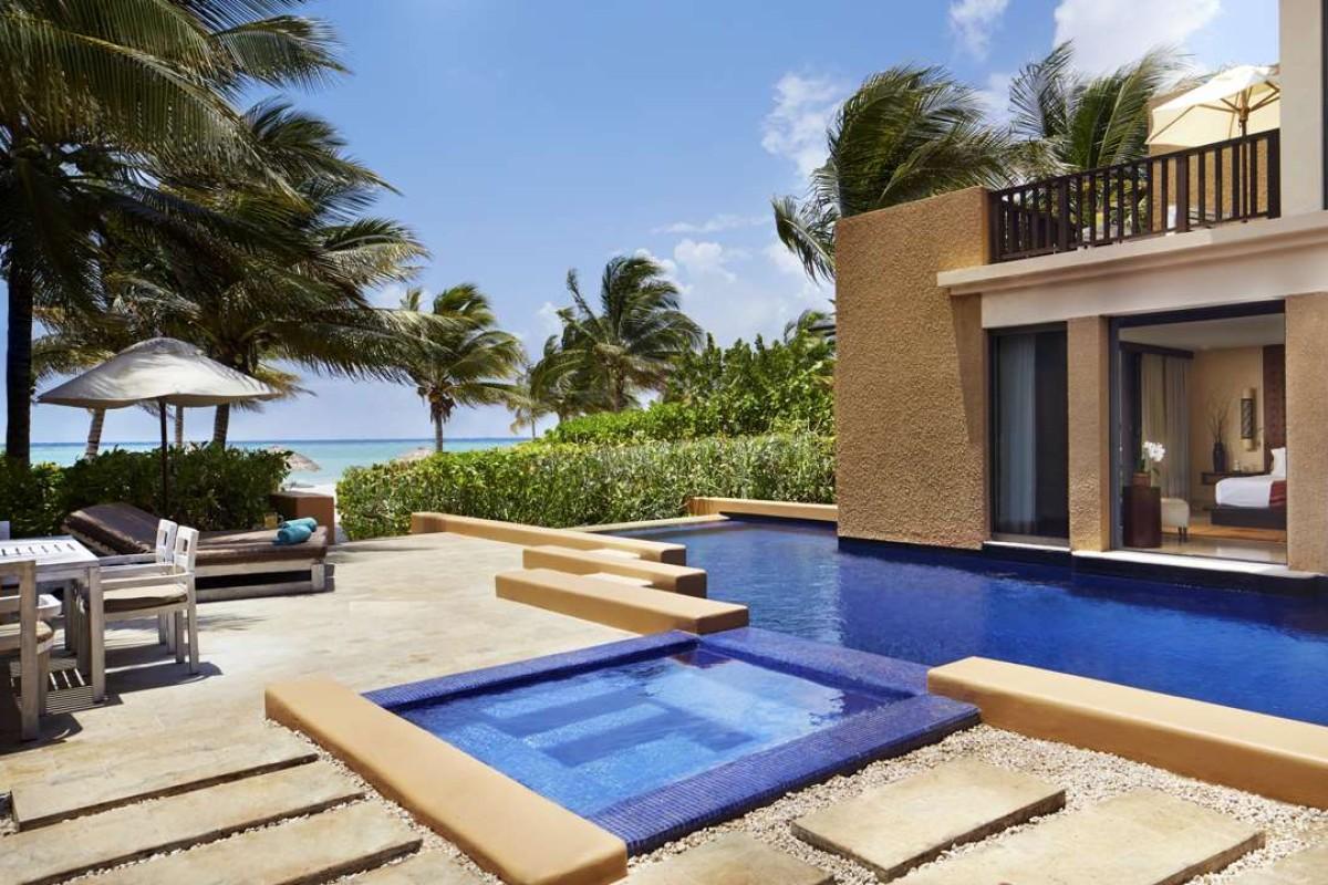 an ocean view villa at the banyan tree mayakoba mexico