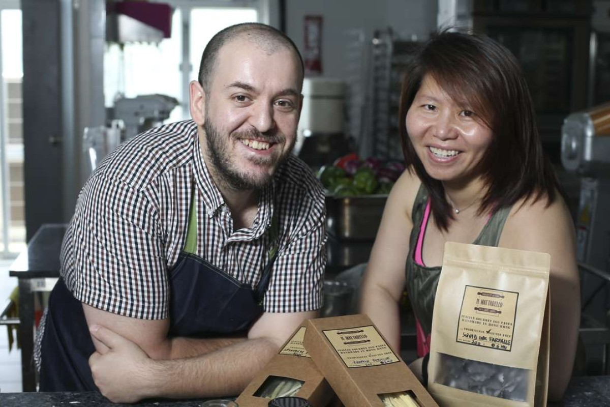Il Mattarello founders Filippo Sintoni and Catherine Wong. Pictures: K.Y. Cheng