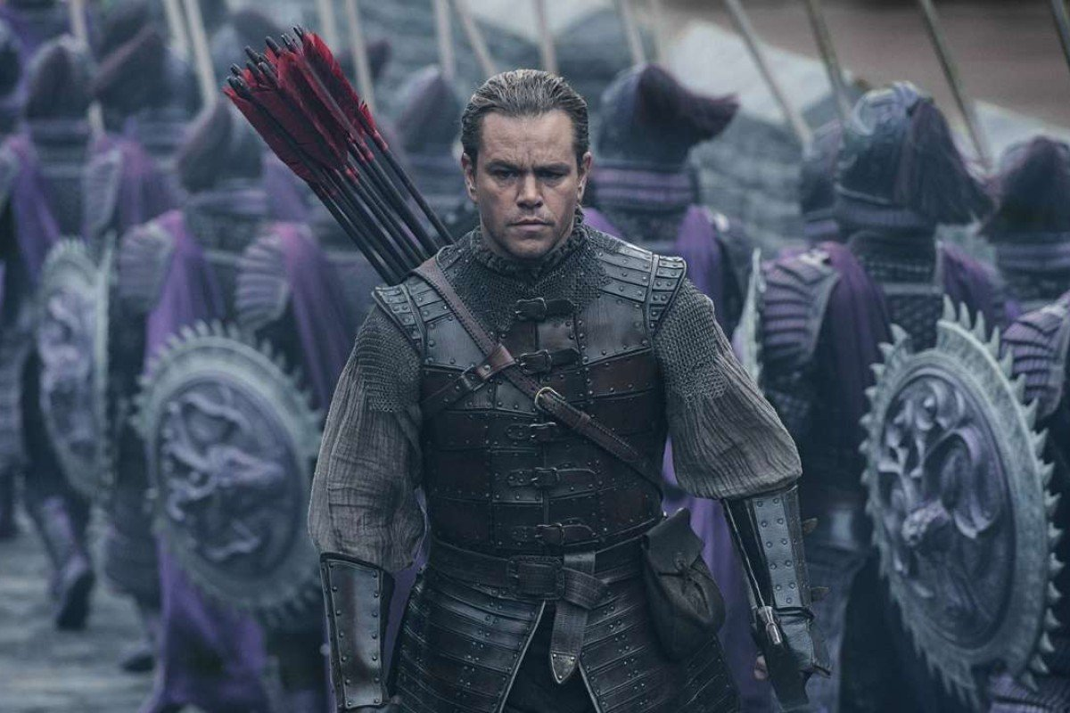 Matt Damon in The Great Wall.