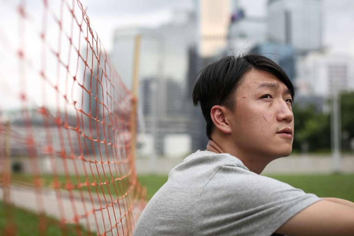 Edward Leung Tin-kei, of Hong Kong Indigenous, at Tamar Park in Hong Kong. Photo: Nora Tam