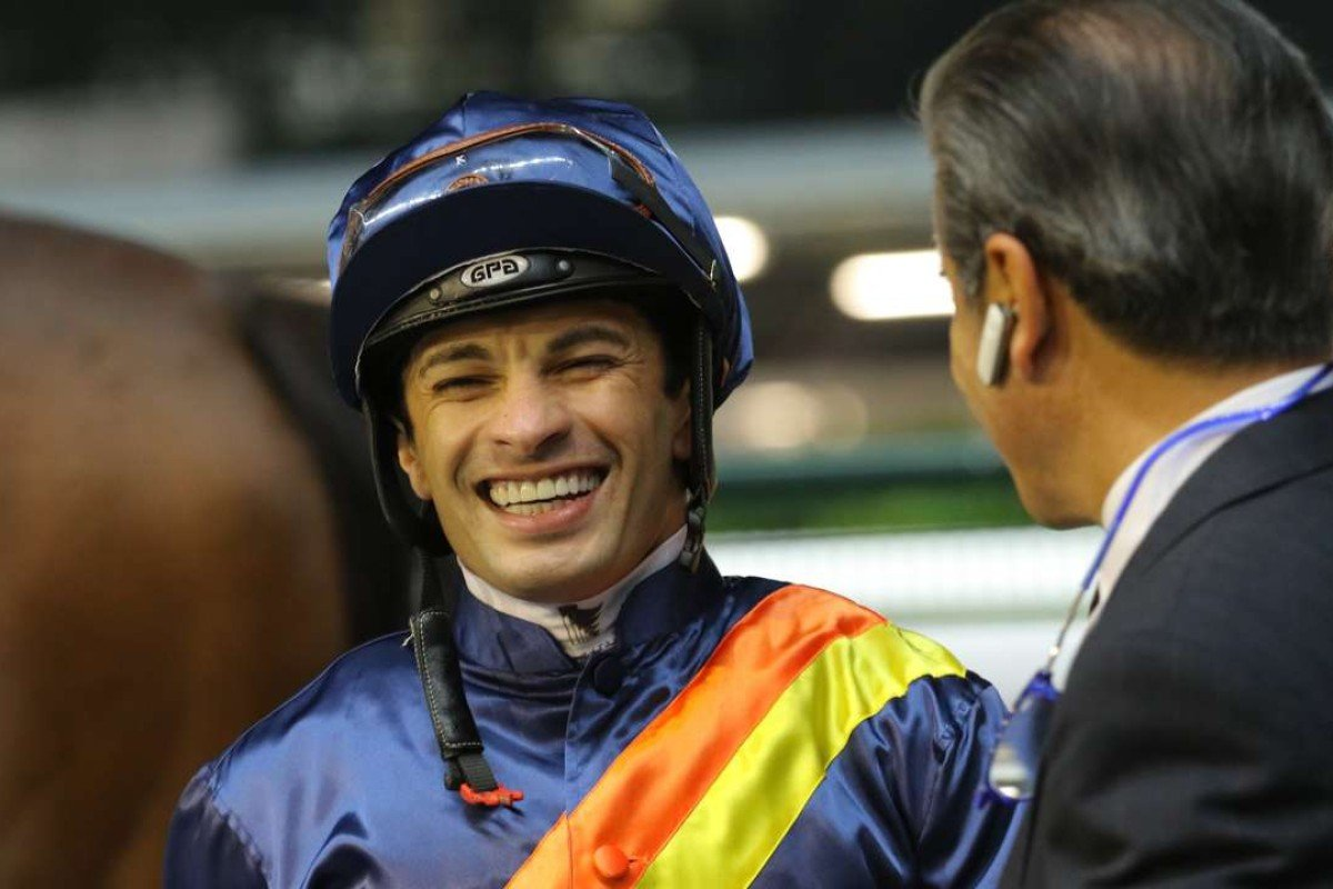 Star jockey Silvestre de Sousa is returning to ride in Hong Kong from October. Photos: Kenneth Chan