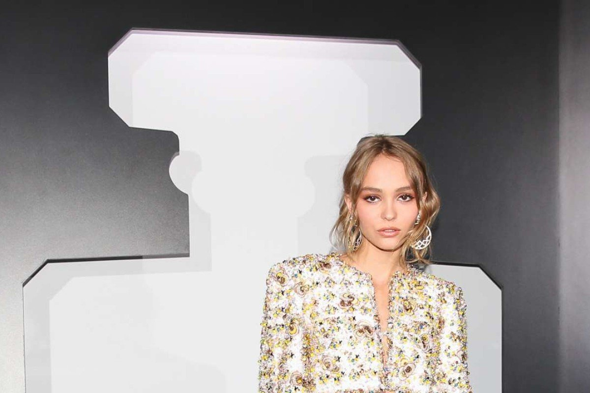 Lily Rose-Depp is the face of Chanel's new fragrance No. 5 L'Eau.