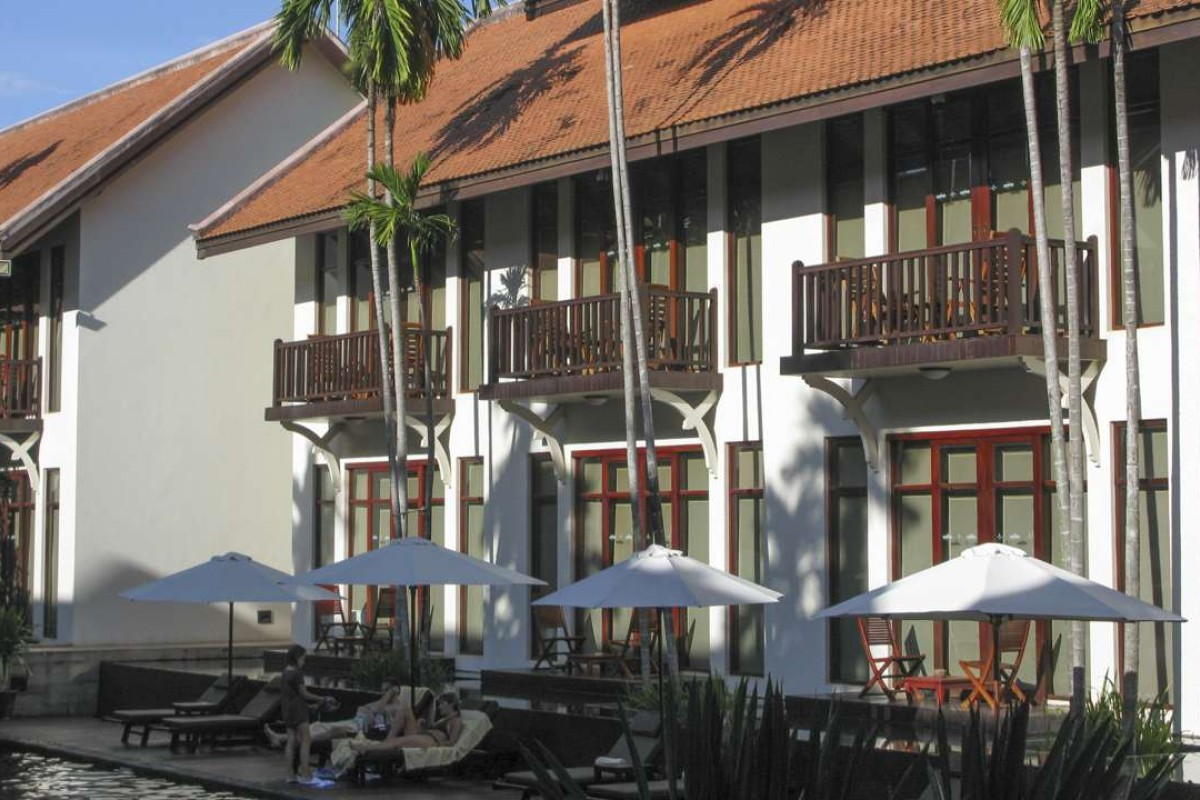 The Anantara Angkor Resort & Spa, Siem Reap. Picture: Mark Footer
