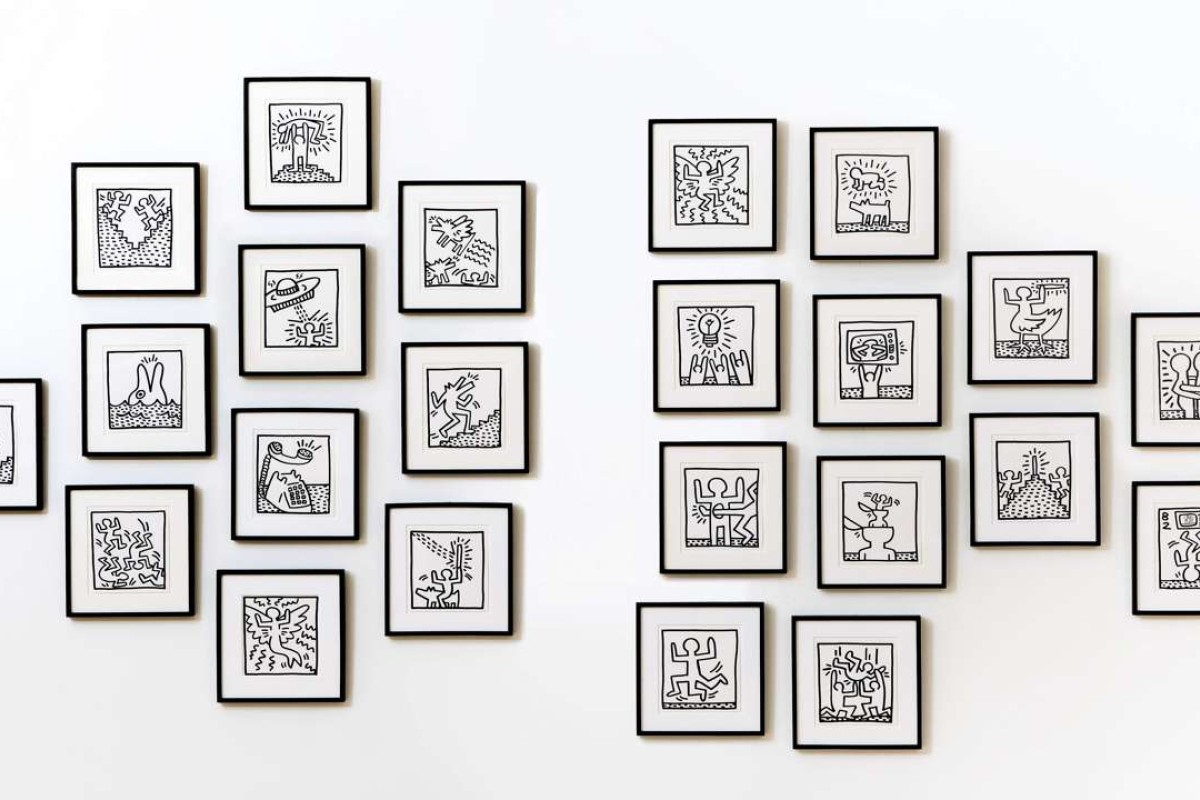 Keith Haring's Untitled (Twenty-Three Works) (1982).