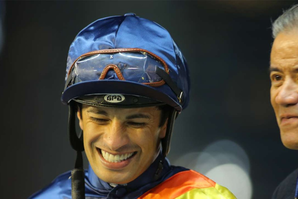 Slivestre de Sousa returns to race riding in Hong Kong on Sunday. Photos: Kenneth Chan