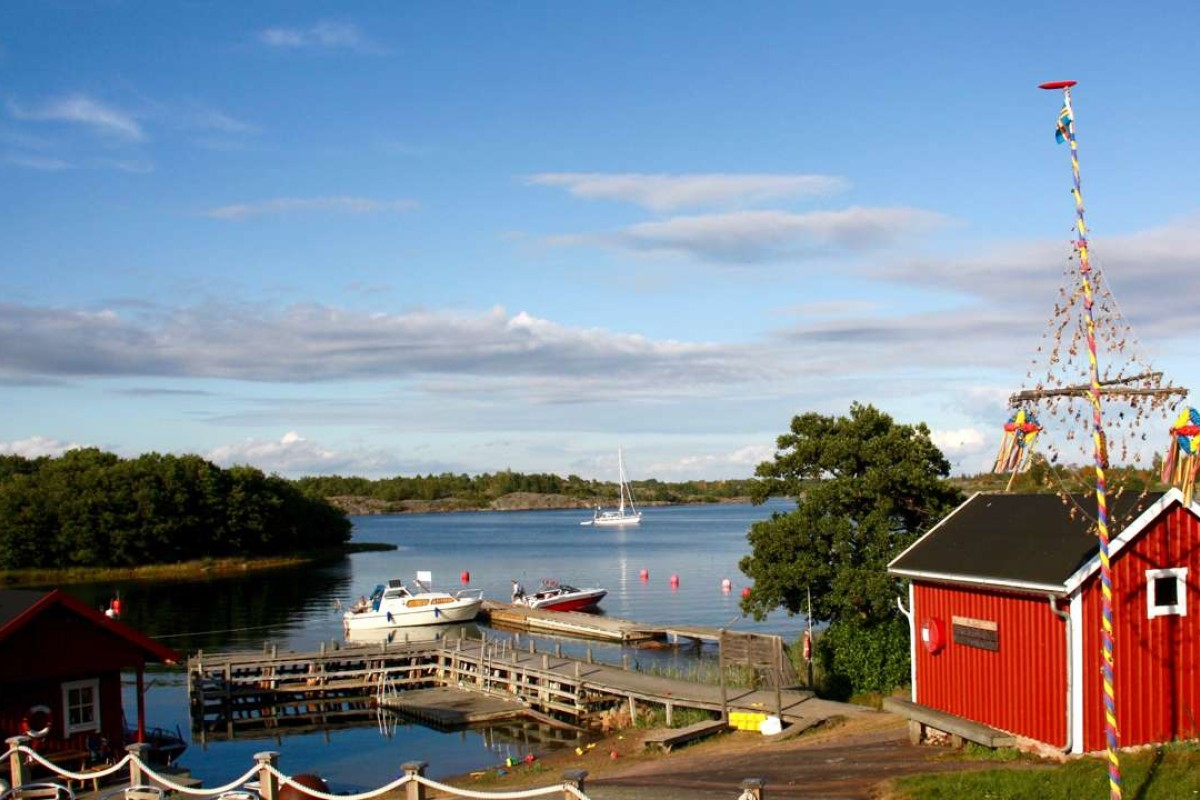 Many homes in the Åland Islands have sauna shacks near the water's edge. Pictures: Cameron Dueck