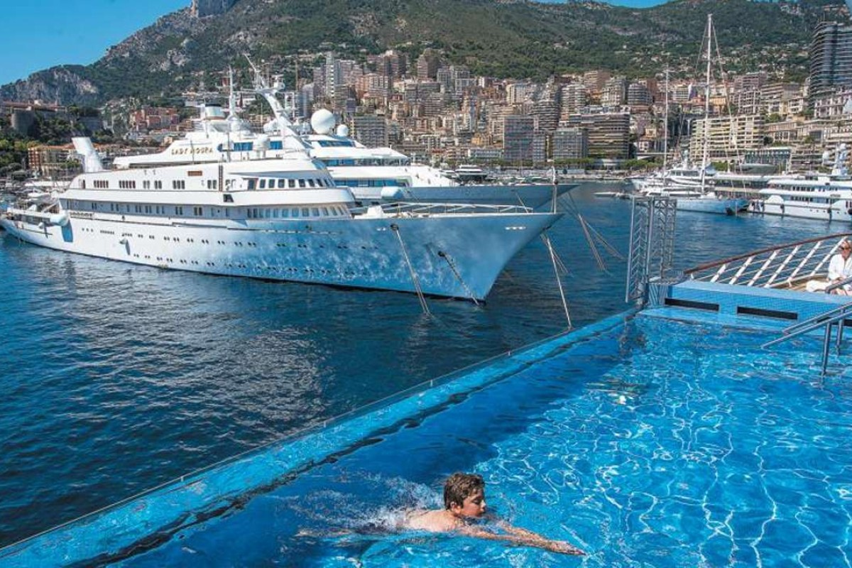 Cruising The Med Aboard The Most Luxurious Ship Ever Built - Cruise ships in monaco today