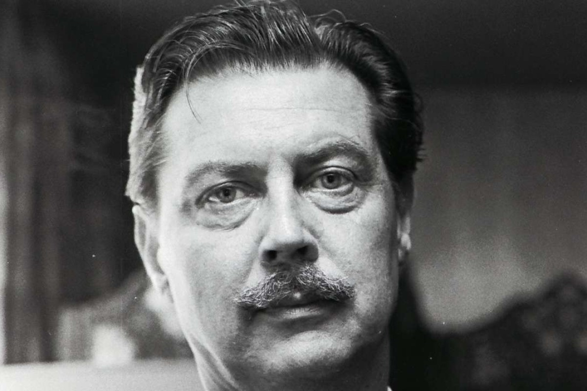 John Slimming lived in Hong Kong for two decades after leaving Malaya, and wrote a number of novels set in East Asia. Photo; Alamy
