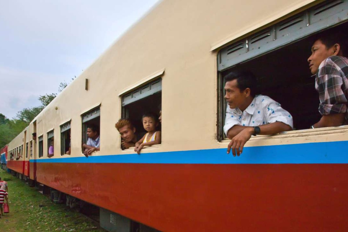The train to Pyin Oo Lwin. Pictures: Alamy