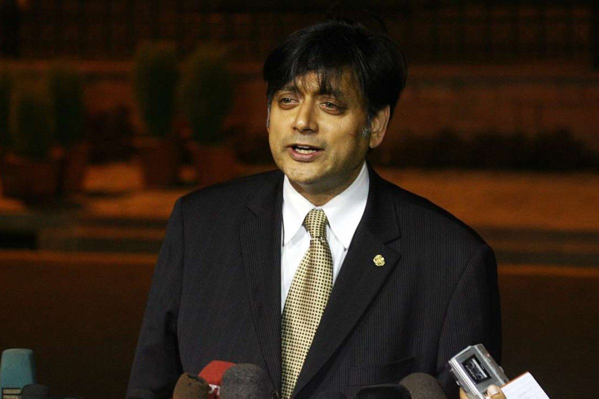Shashi Tharoor's speech to the Oxford Union on whether Britain should pay reparations for colonial-era attrocities went viral online. Photo: AFP