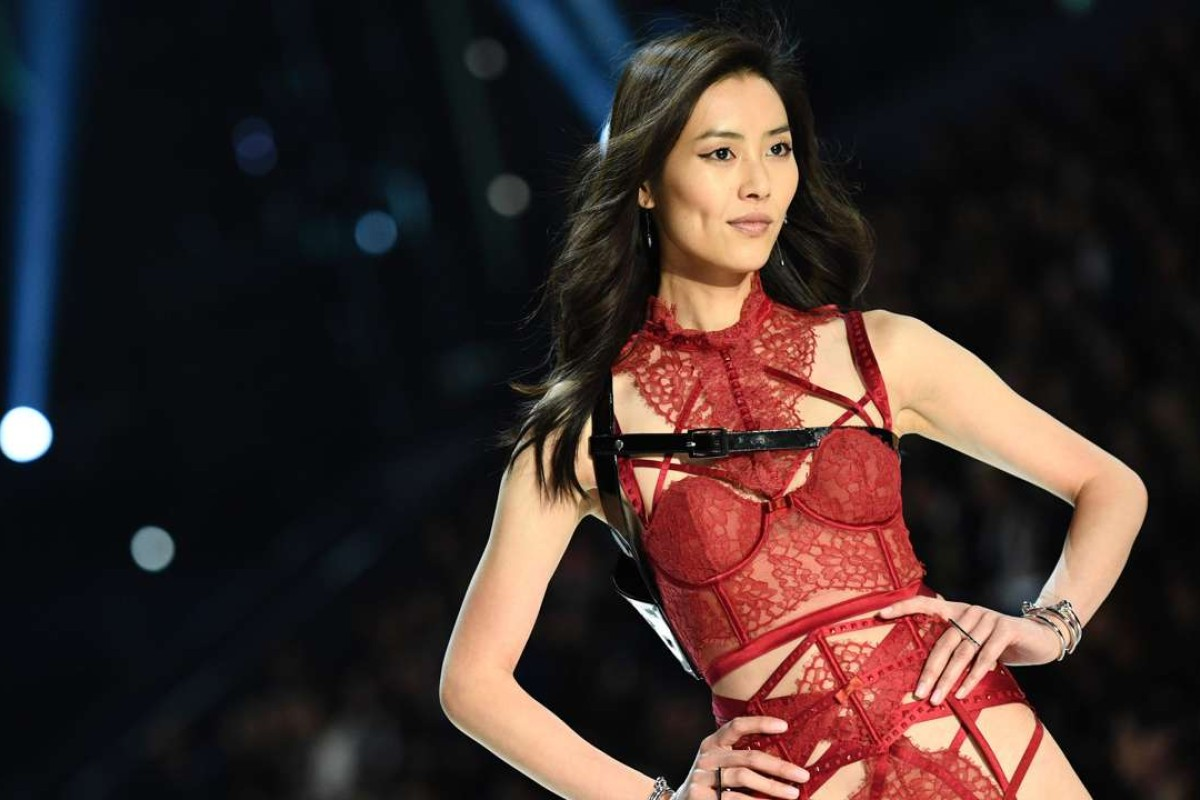 Chinese model Liu Wen. Photo: AFP