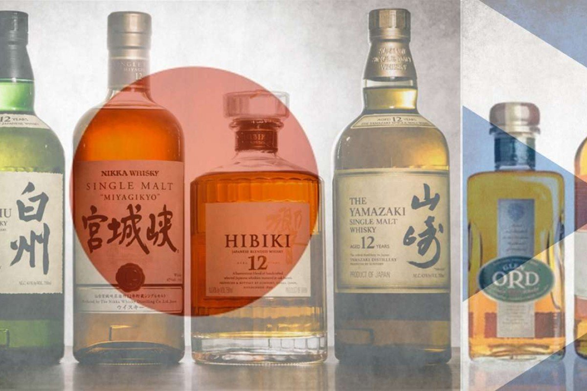 Japanese distilleries use differently shaped stills to produce malts with distinct characteristics
