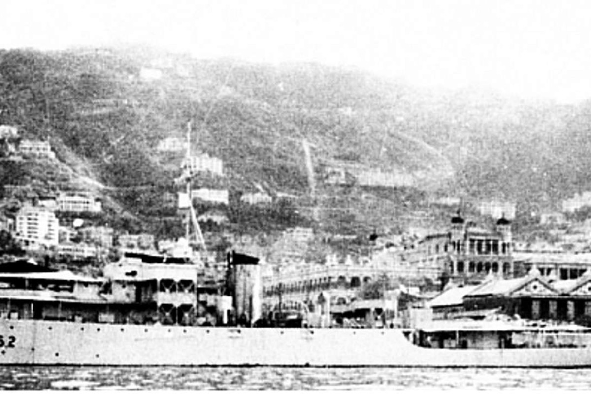 The HMS Aire.
