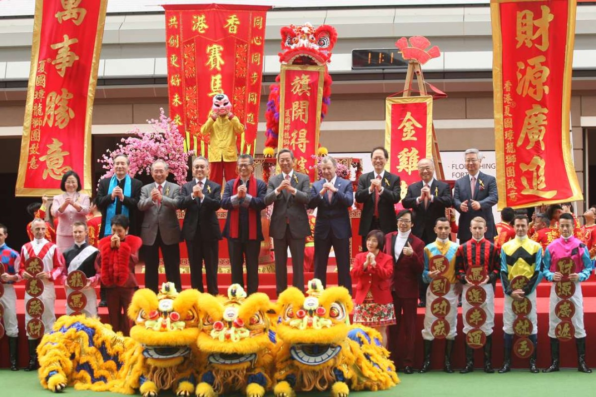 The Lunar New Year opening ceremony at Sha Tin on Monday. Photos: Kenneth Chan