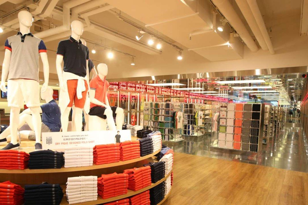 Uniqlo Hong Kong in Causeway Bay. Many Japanese firms that went bankrupt in China could not compete with 'fast fashion' manufacturers such as Uniqlo. Photo: David Wong