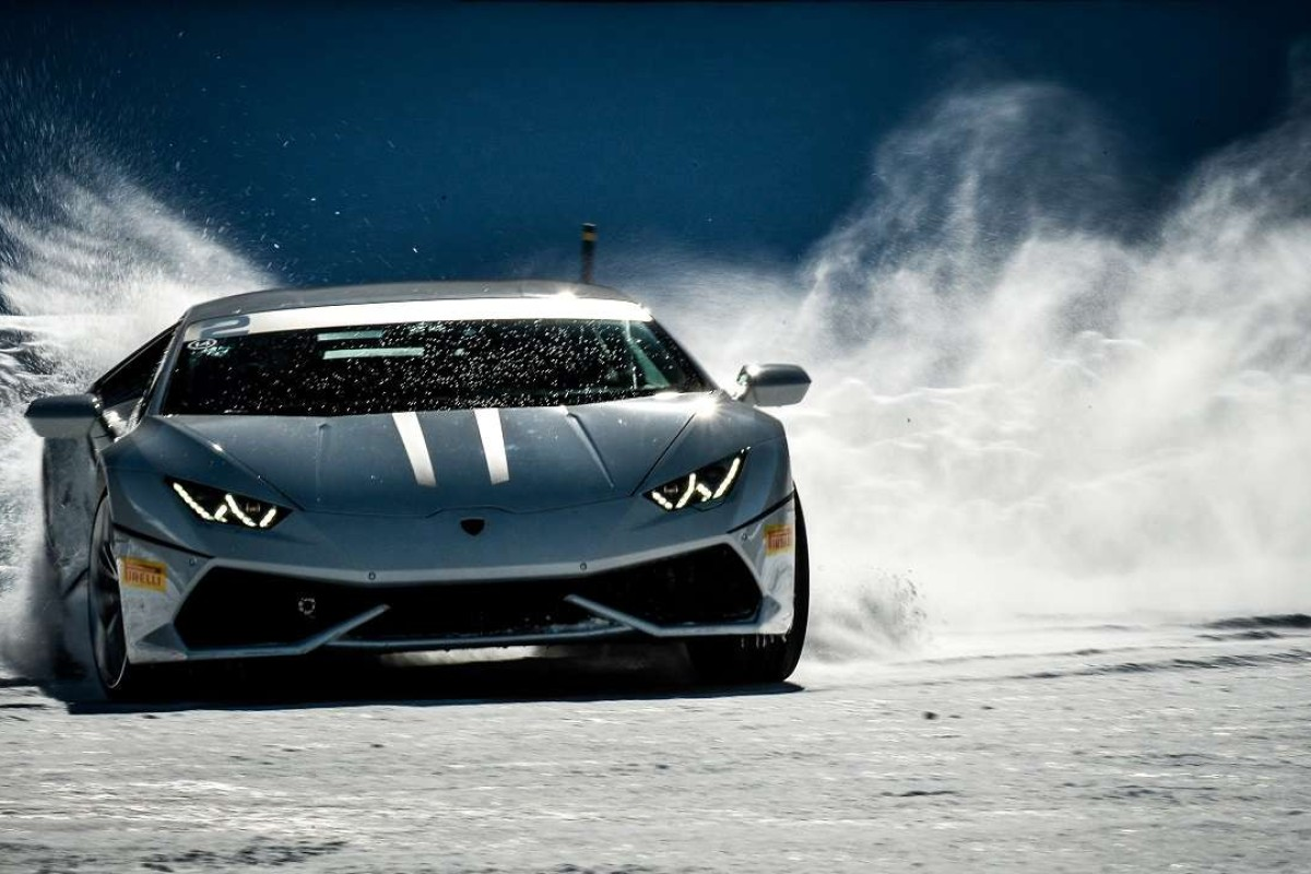 The Lamborghini Huracán LP 610 4