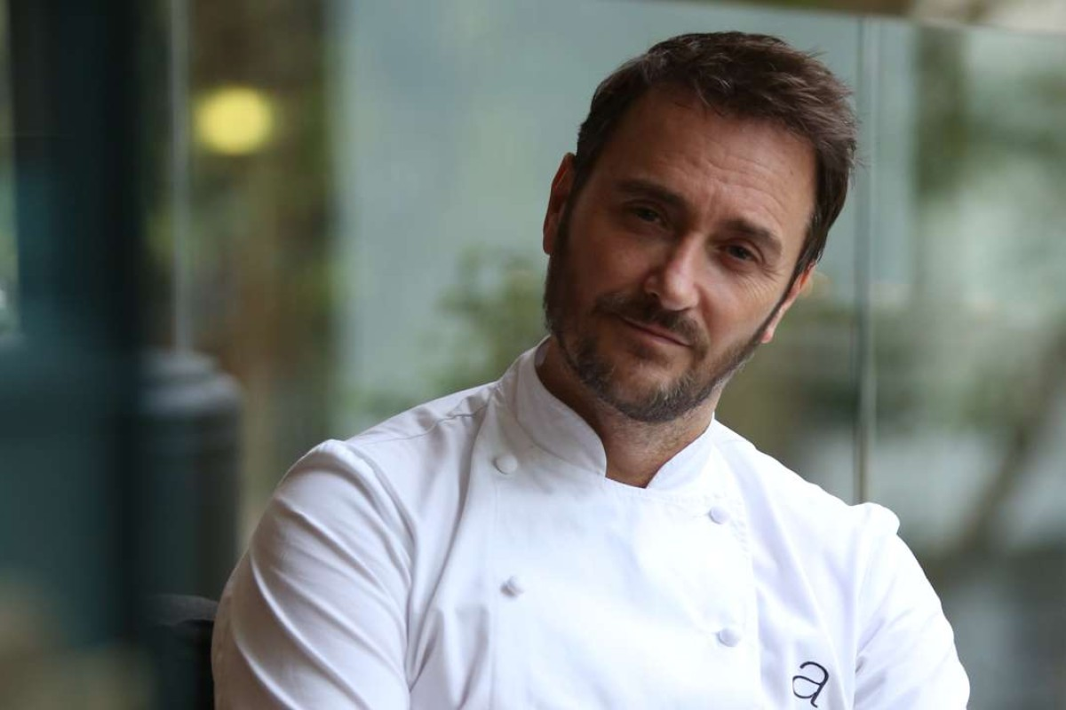 Celebrity chef Jason Atherton, who ran away from home to be a chef and now has a £70 million restaurant empire. Picture: Xiaomei Chen