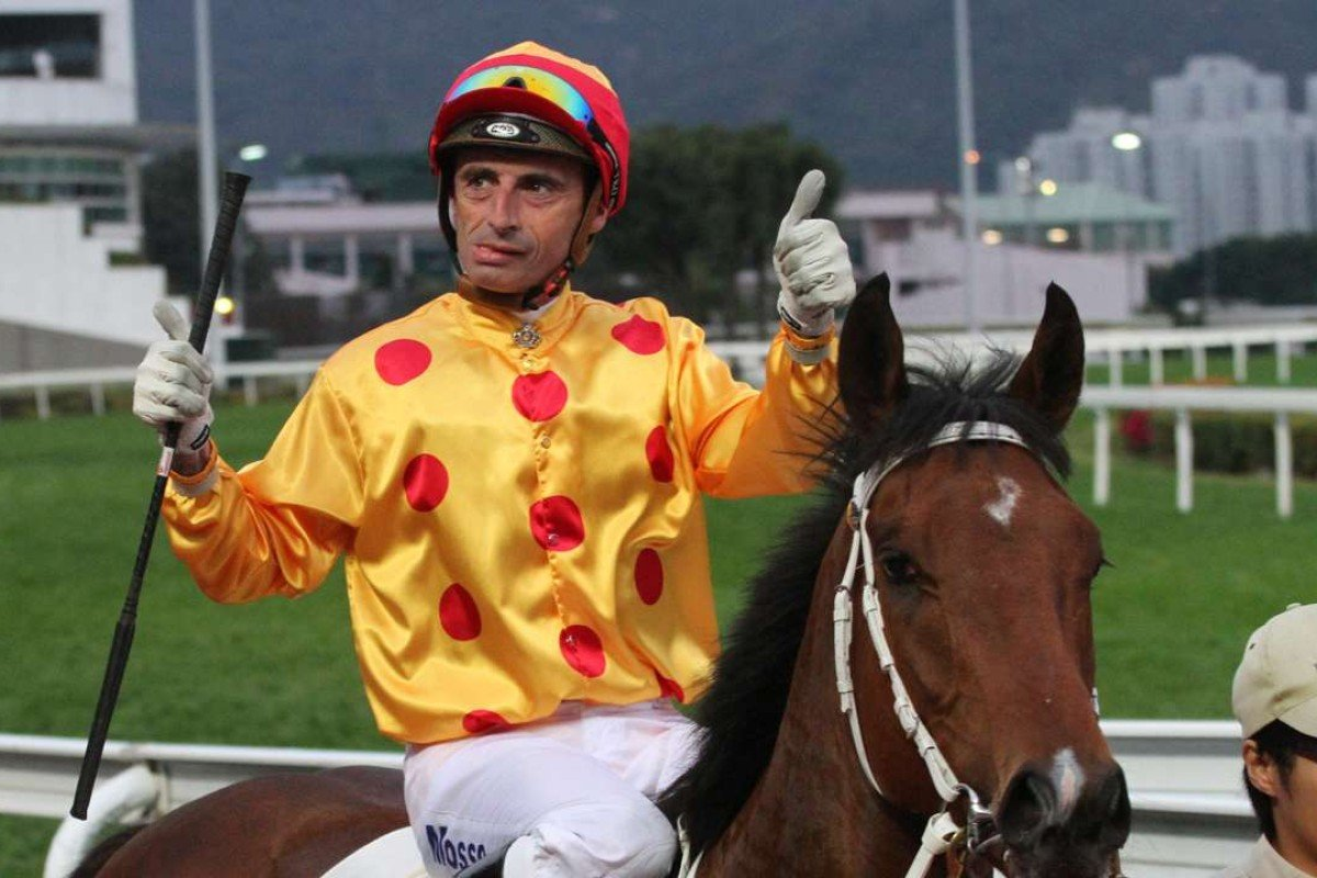 Gerald Mosse is targeting Sunday's HK$18 million Derby aboard Gold Mount. Photo: Kenneth Chan