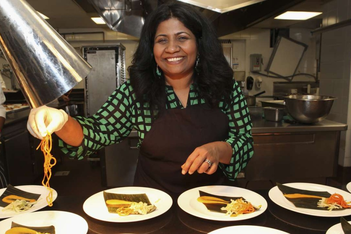 Chef Asha Gomez. Picture: AFP